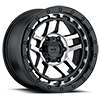 6 LUG XD140 RECON SATIN BLACK MACHINED
