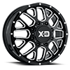 8 LUG XD843 GRENADE GLOSS BLACK MILLED