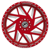 6 LUG XFX-306 RED MILLED