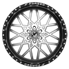 6 LUG XFX-307 GLOSS BLACK BRUSHED