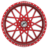 6 LUG XFX-307 RED MILLED