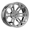 6 LUG XFX-308 CHROME