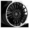 5 LUG NEW YORK X130 GLOSS BLACK