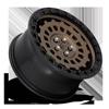 5 LUG ZEPHYR - D634 BRONZE W/ BLACK LIP
