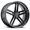 5 LUG CHAPELLE MATTE BLACK