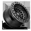6 LUG ZEPHYR BEADLOCK - D101 MATTE BLACK W/ MATTE BLACK RING