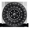 5 LUG ZEPHYR BEADLOCK - D101 MATTE BLACK W/ MATTE BLACK RING