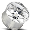 8 LUG F70 CHROME