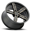 5 LUG Z10 SATIN BLACK WITH BRONZE CLEAR COAT
