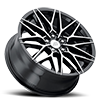 5 LUG MP.40 GLOSS BLACK MACHINED FACE