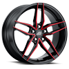 5 LUG MP.51 GLOSS BLACK RED FACE