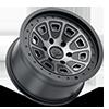 6 LUG FLATIRON MATTE BLACK W/ DARK TINT