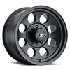 5 LUG CLASSIC III™ BLACK - 15X10 SATIN BLACK W/CLEAR COAT