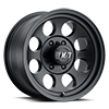 6 LUG CLASSIC III™ BLACK - 15X8 SATIN BLACK W/CLEAR COAT