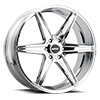 6 LUG M125 CHROME