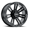 5 LUG T-22 MATTE BLACK W/ STAINLESS STEEL BOLTS