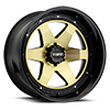 6 LUG T1A GOLD W/ GLOSS BLACK LIP