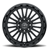 8 LUG T5A GLOSS BLACK W/ MILLED SPOKES