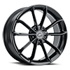 5 LUG 457 REVELATION GLOSS BLACK WITH CLEAR COAT