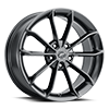 5 LUG 457 REVELATION GLOSS GUN METAL GREY WITH CLEAR COAT