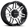 8 LUG 931M INJECTOR 20X12 BLACK MACHINED