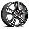 5 LUG SP-35 GLOSS BLACK MACHINED