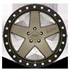 5 LUG CRAWLER MATTE BRONZE WITH BLACK LIP RING