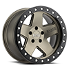 5 LUG CRAWLER BEADLOCK MATTE BRONZE W/ MATTE BLACK LIP RING