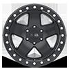 6 LUG CRAWLER BEADLOCK MATTE BLACK - 17X8.5