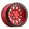 6 LUG PRIMM BEADLOCK CANDY RED W/ BLACK RING