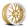 5 LUG AFF10 GOLD W/ MACHINED LIP