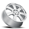 6 LUG TURIN SILVER MIRROR MACHINED FACE AND LIP