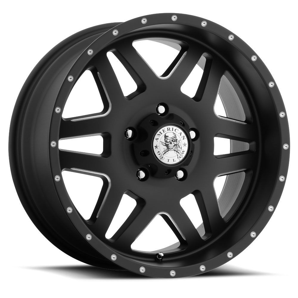 American Outlaw Marshal S118 Wheels Socal Custom Wheels