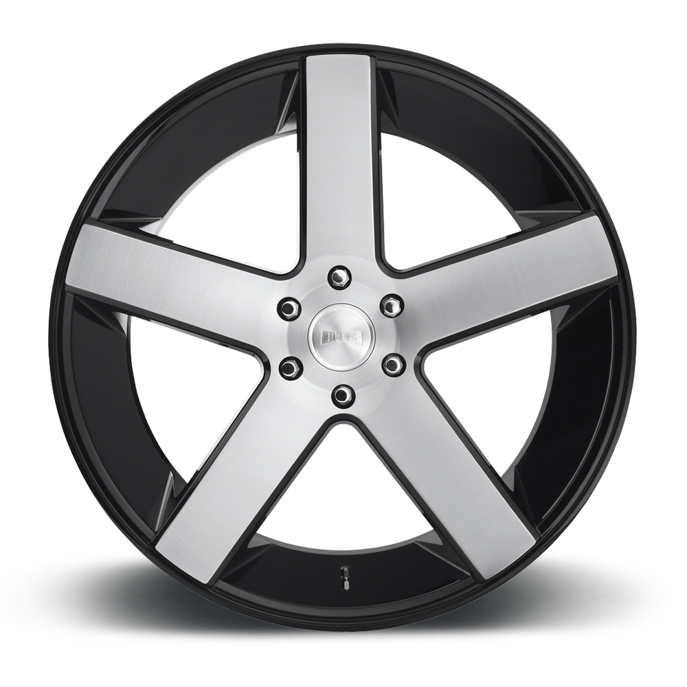 Black Wheels Dub Alloys: DUB 1-Piece Baller - S217 Wheels