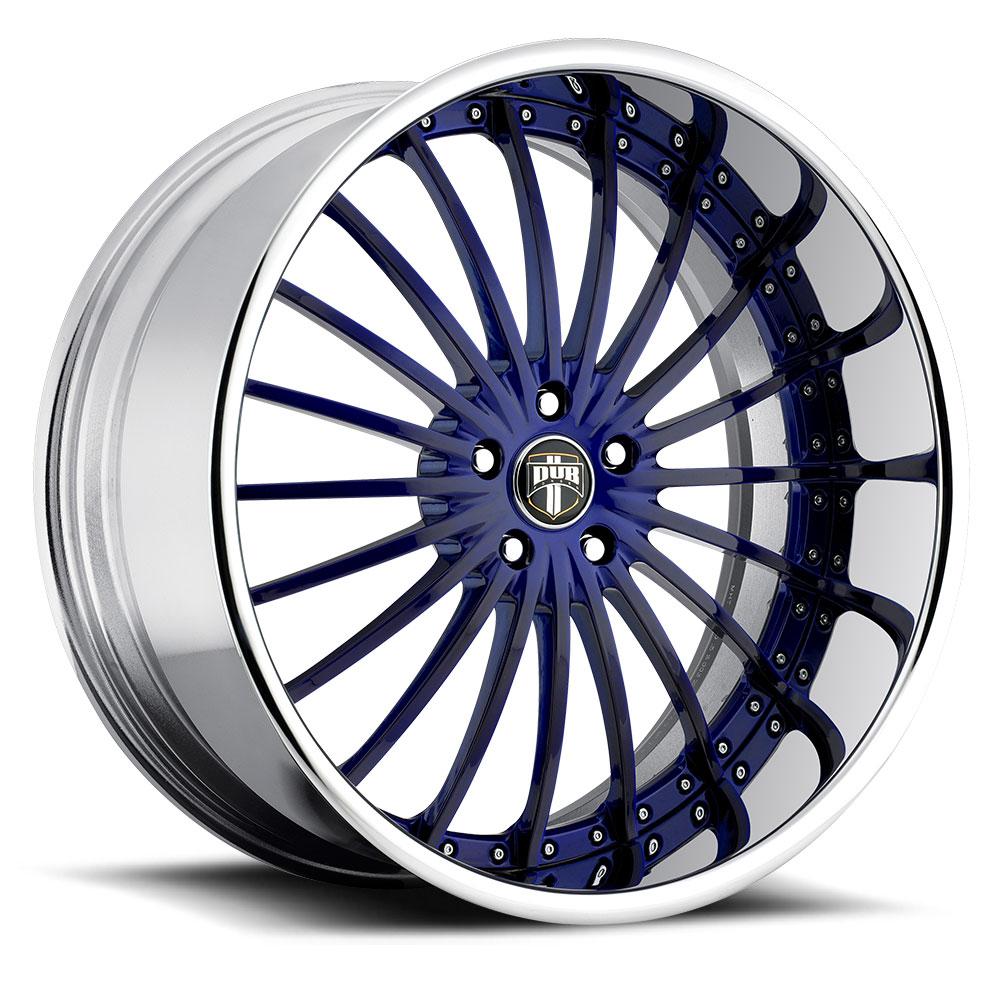 Black Wheels Dub Alloys: DUB Forged Rhyme - C21 Wheels