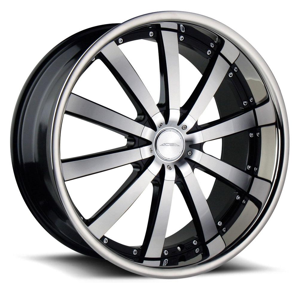 Ace Alloys Executive Wheels Socal Custom Wheels