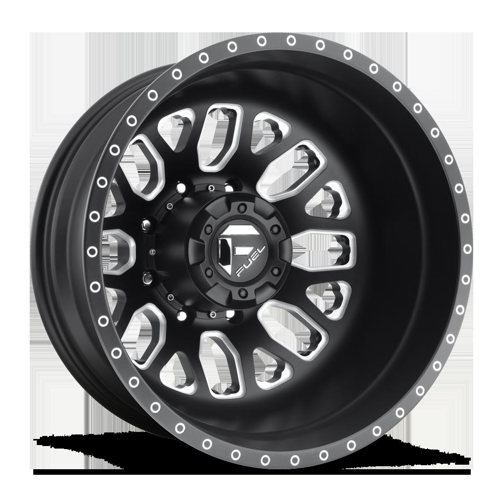Fuel Dually Wheels Ff19d Rear Wheels Socal Custom Wheels