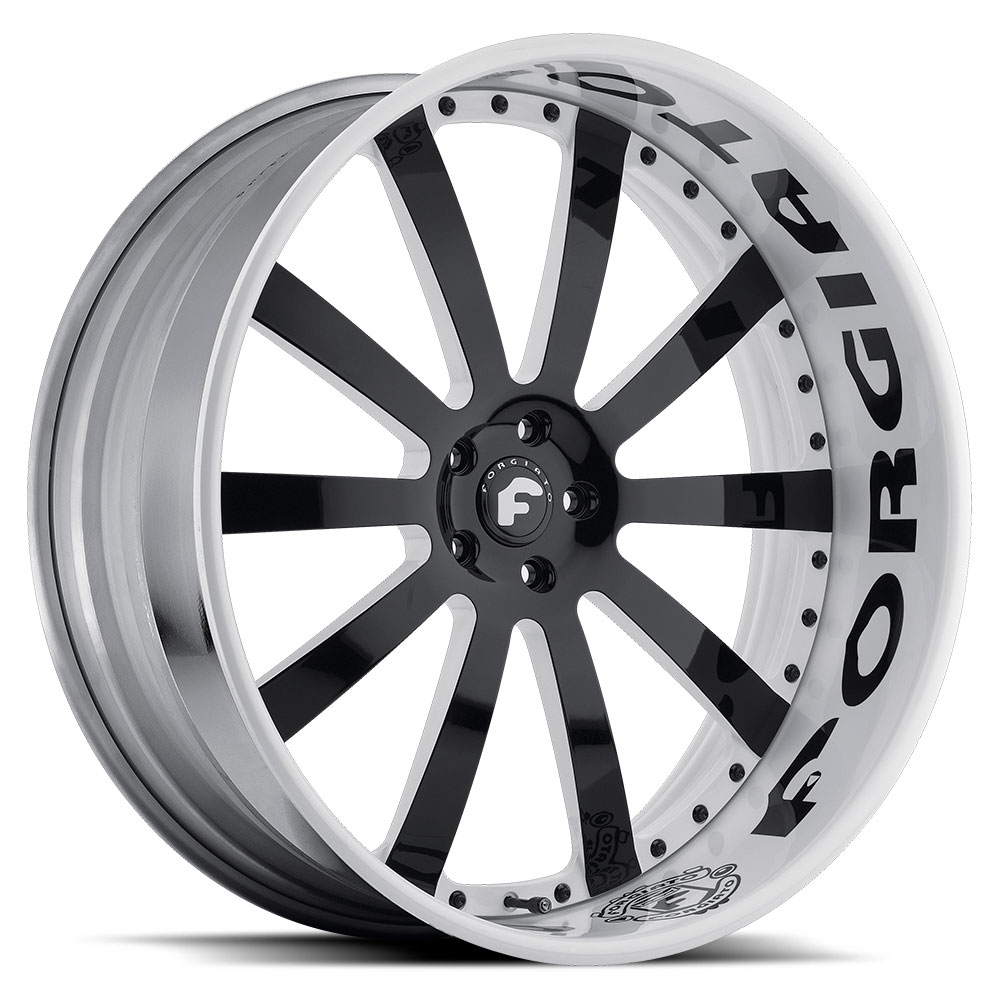 Forged Parts Black And White : Forgiato concavo wheels socal custom