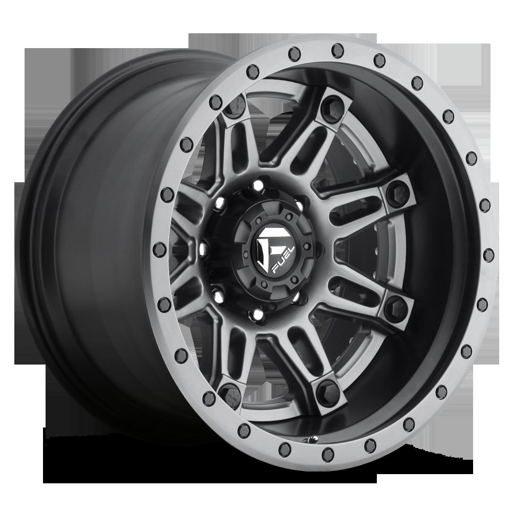 Fuel 2 Piece Wheels Hostage Ii D232 Socal Custom Jeep Wrangler With 6 Lug