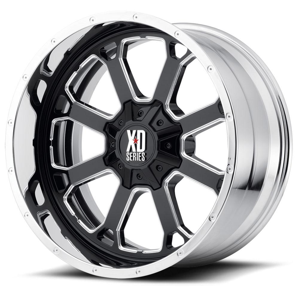 Xd Series By Kmc Xd202 Buck 25 Wheels Socal Custom Wheels