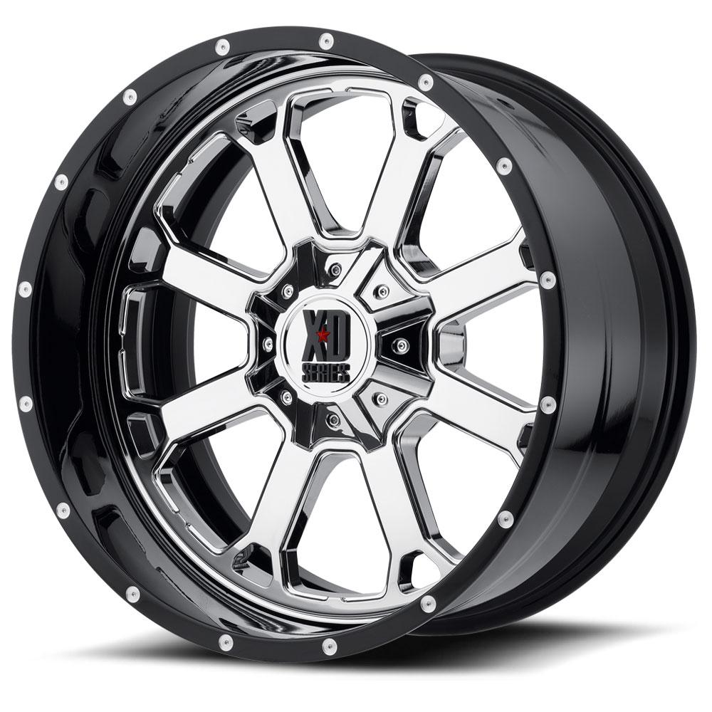 XD Series by KMC XD202 Buck 25 Wheels | SoCal Custom Wheels