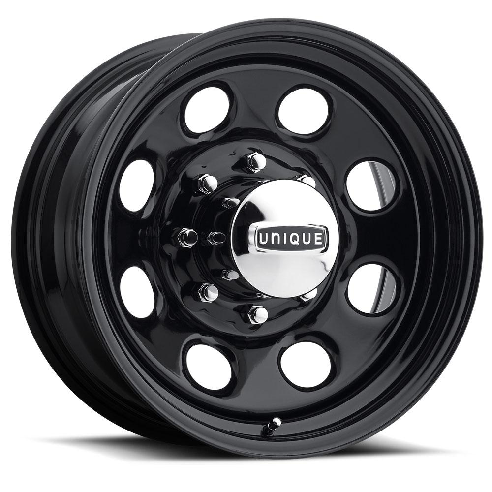 Unique Series 297 Black Soft 8 Wheels Socal Custom Wheels