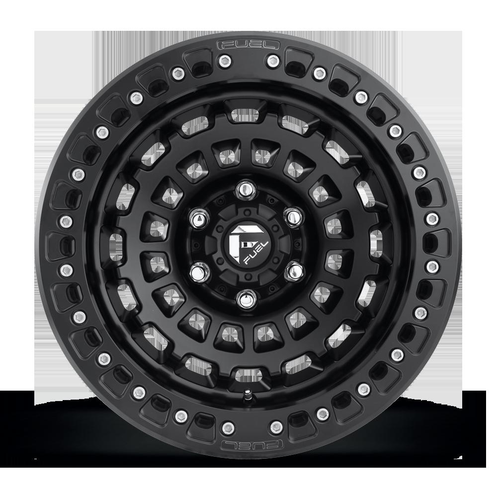 Fuel 1-Piece Wheels Zephyr Beadlock