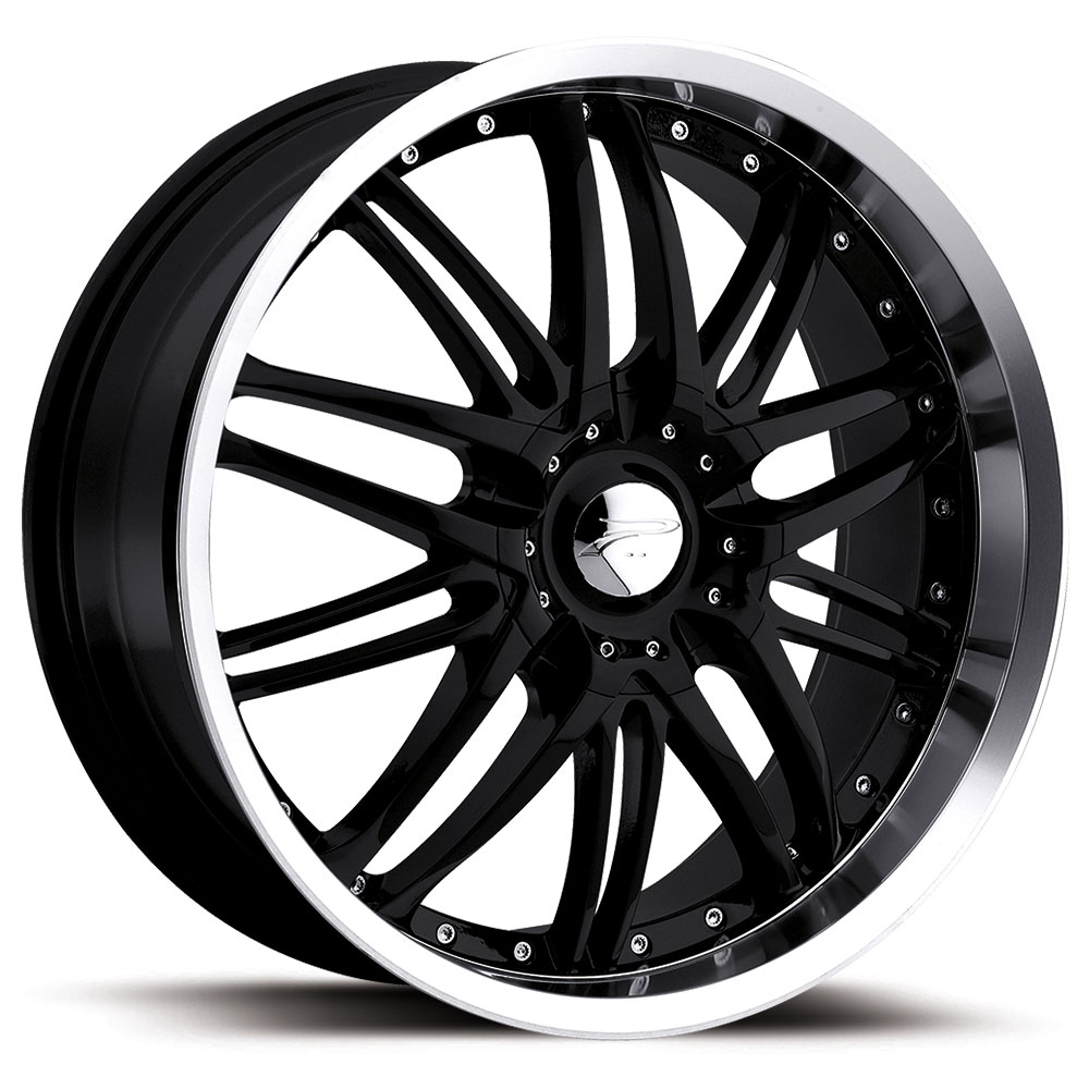 auto sport saber wheels rims black platinum wheel sale car std org lug muscle on