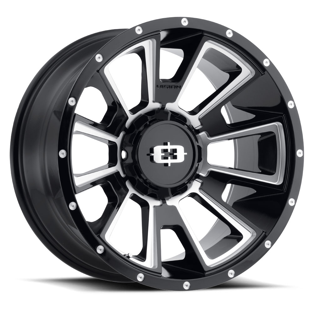 ... 6 LUG 391 REBEL GLOSS BLACK MILLED 6 LUG GLOSS BLACK MILLED ...