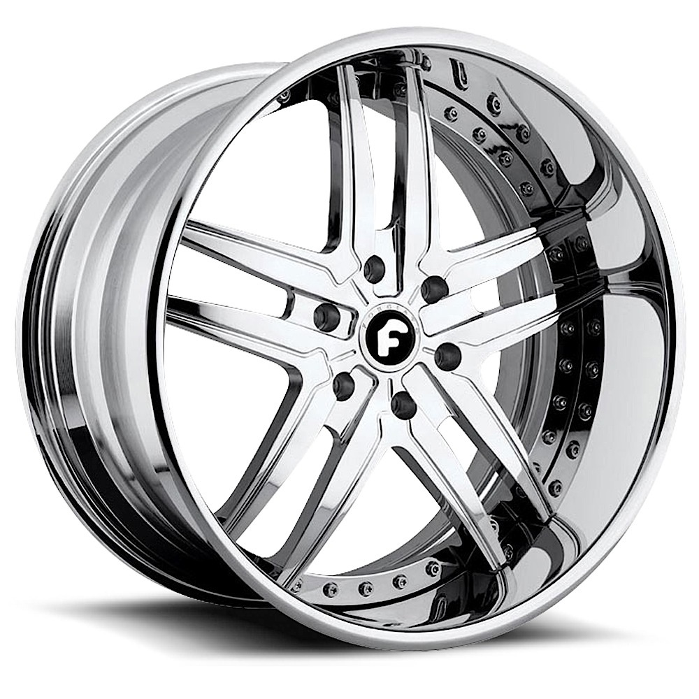 f iato vizzo wheels socal custom wheels Forza Drifting 5 lug chrome center chrome lip